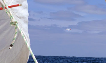 Photo: US Coast Guard checking us!