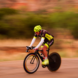 Moving fast by Scott Thomas - Sports & Fitness Cycling ( fast bike, fast, race, bicycle, endurance )