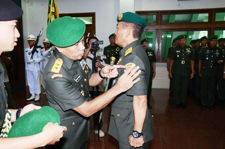 Rotasi di tubuh TNI