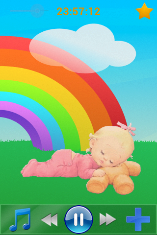 Lullaby for babies- screenshot