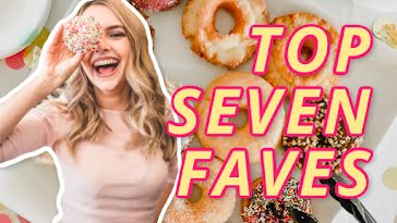 Top Seven Faves - YouTube Thumbnail Template