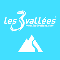 Les 3 Vallées 3D by FATMAP
