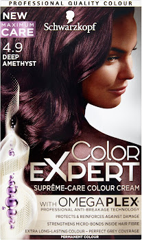 Schwarzkopf Color Expert Supreme-Care Colour Cream - 4.9 Deep Amethyst