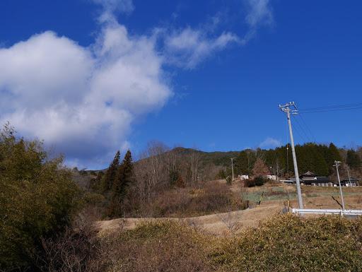 上に笠置山