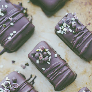 Raw Mini Hemp Chocolates