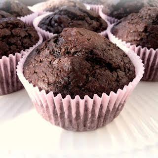Dark Chocolate Espresso Muffins.