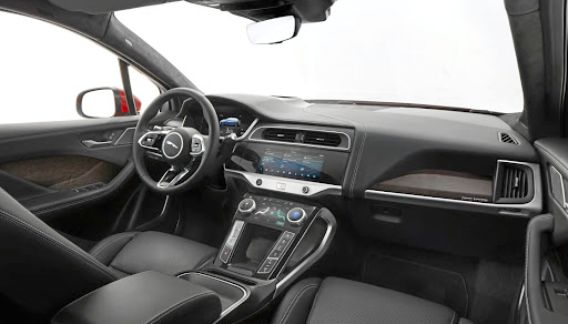 The interior still has a Jag look and feel combined with some new touches and equipment design. Picture: NEWSPRESS UK