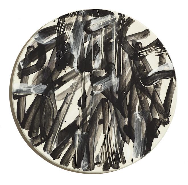 "<p> <strong>Study for Splendide-Hôtel F</strong><br /> Ceramic plate<br /> 13 ¼"" x 13 ¼""<br /> 2018</p>"