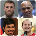 MMA and Boxing - Guess the legendary fighters icon