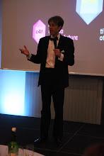 Photo: Daniel Holtgen, opening the presentation of the awards