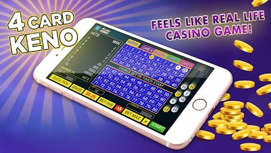 Four Card Keno FREE 💰 4 Ways to Win Keno Games! 1.1.2