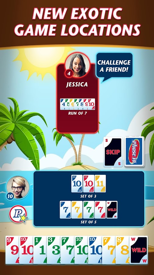Phase 10 - Play Your Friends!- screenshot