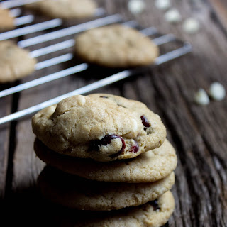 White Chocolate Cranberry Cookies.