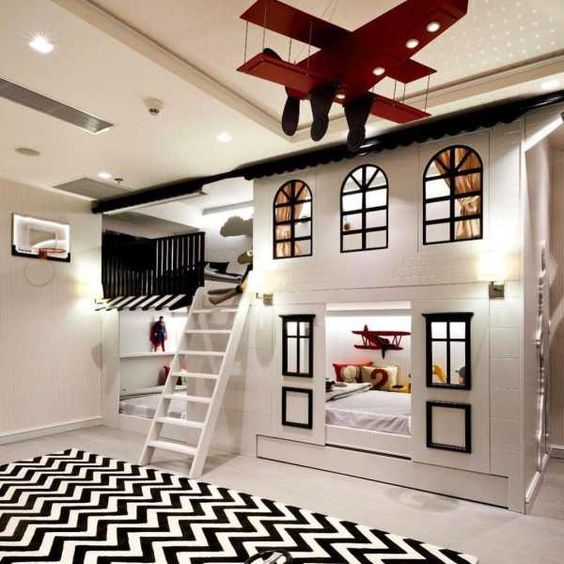House Bunk Bed Ideas for Little Girls