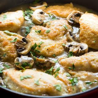 Gluten-Free Chicken Marsala.