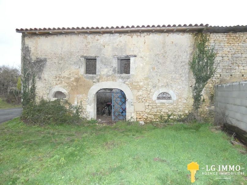 Vente maison 1 pièce 100 m² à Saint-Genis-de-Saintonge (17240), 29 900 €