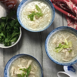 Chicken Soup with Jasmine Rice and Ginger