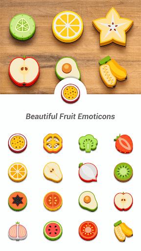 Beautiful Fruit Emoticons