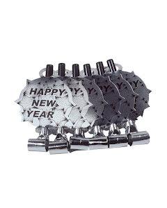 Blåsormar Happy New Year, Silver