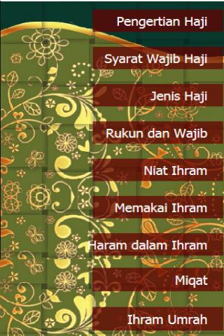 Panduan Ibadah Haji dan Umrah