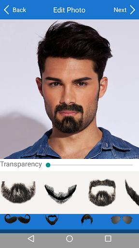 Men Mustache Beard Haircuts  screenshots 4