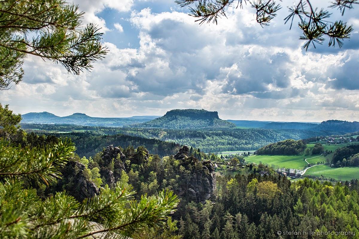 Photo: Sächsische Schweiz Landschaft 3 - Foto von Stefan Hille