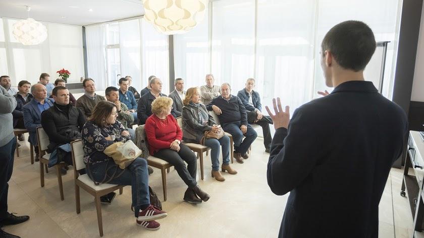 Jornada impartida recientemente en La Tejera dentro del proyecto \'Almanzora Eléctrico\'.