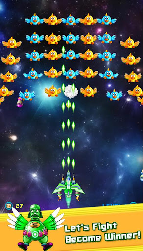 Chickens Shooter - Space Attack 1.1.03 screenshots 3