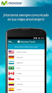 Movistar Travel: miniatura de captura de pantalla