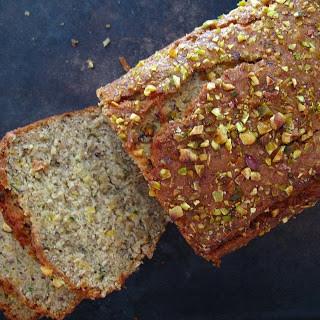 Zucchini Bread with Fennel and Pistachios [Vegan, Gluten-Free].