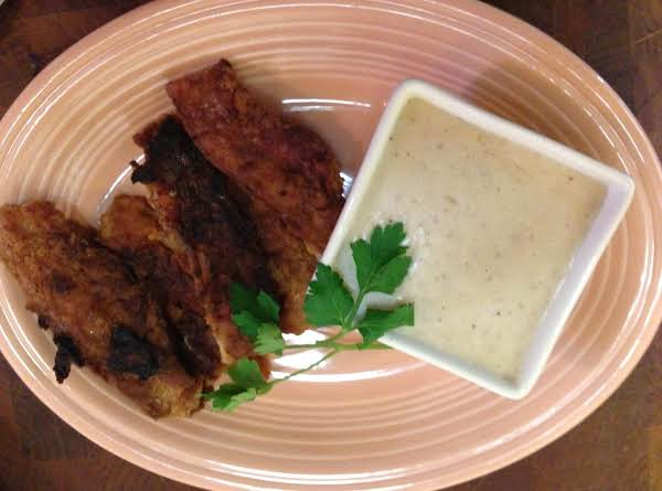 Sinfully Delicious Southern Fried Bacon With Cream Gravy...