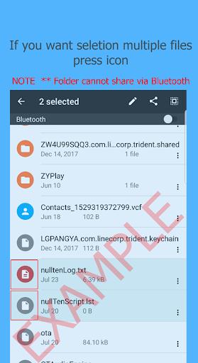 Bluetooth Files Transfer 4.0.1 screenshots 2