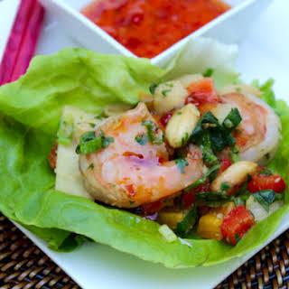Asian Shrimp Lettuce Wraps Recipes.