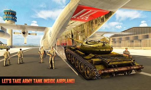 Army Tank Transport Plane Sim : Army Transporter screenshots 1