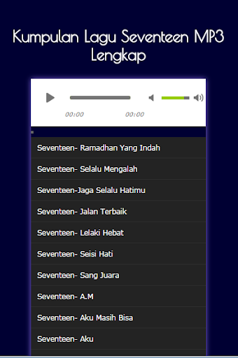 Download Kumpulan Lagu Seventeen Mp3 Lengkap Google Play Softwares