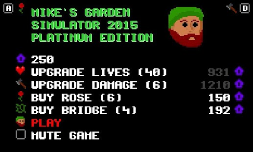 LD34: Mike's Garden Simulator- screenshot thumbnail