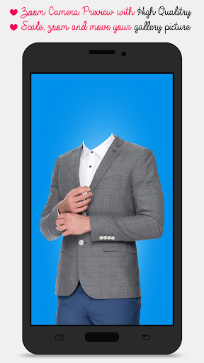 Stylish Man Suit Montage