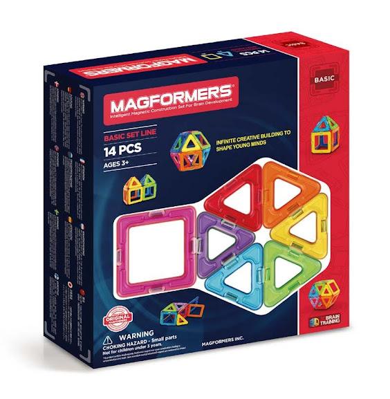 Contenido de Magformers® 14 Set