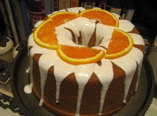 Orange Blossom Pound Cake