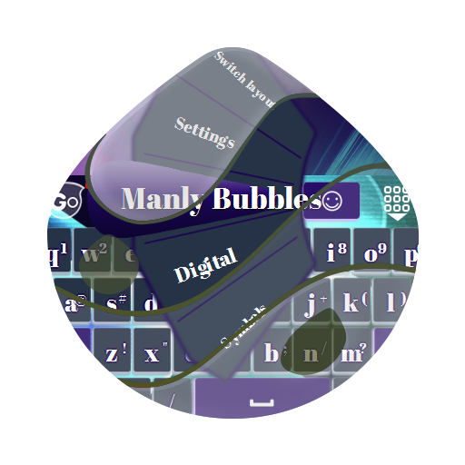 マンリー泡Manrī awa GO Keyboard 個人化 App LOGO-APP試玩