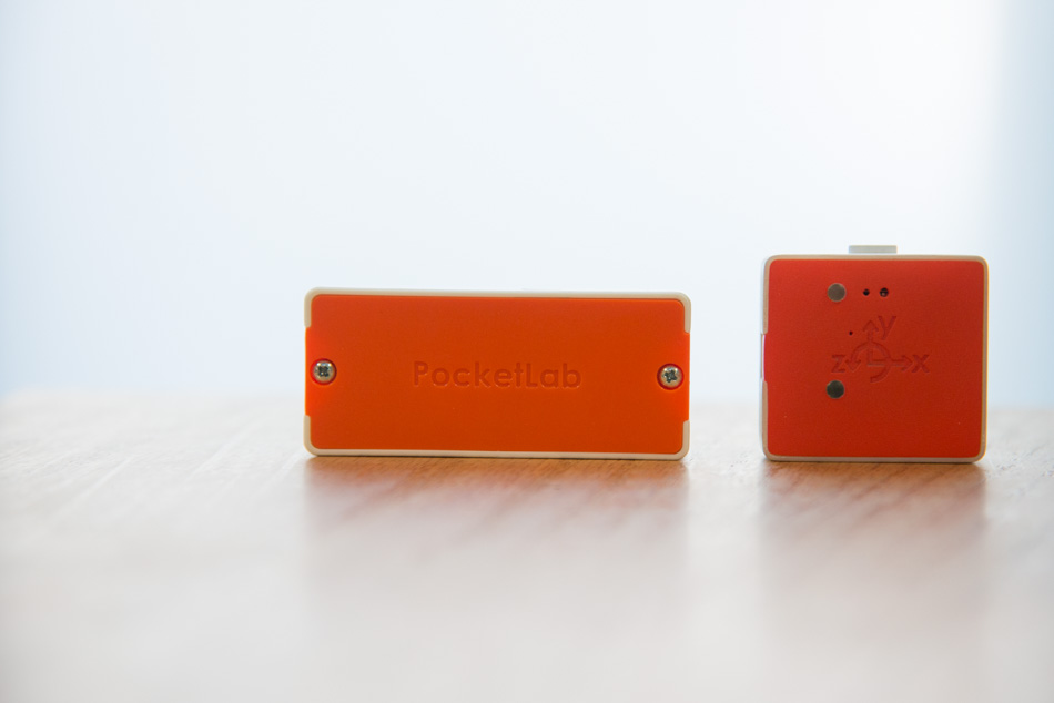 PocketLab prototypes