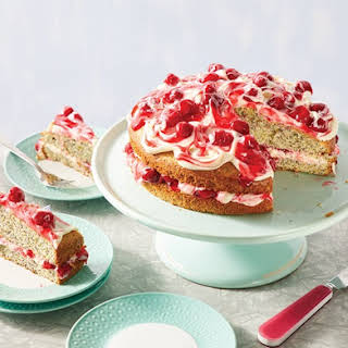 Cherry Poppy Seed Cake.