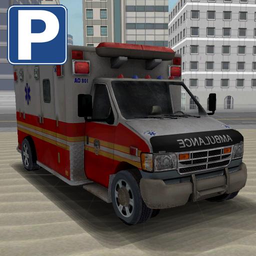模擬App|救急車の屋上駐車場 LOGO-3C達人阿輝的APP