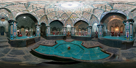 Photo: Four-season bath/museum, Arak, Iran حمام چهارفصل اراک