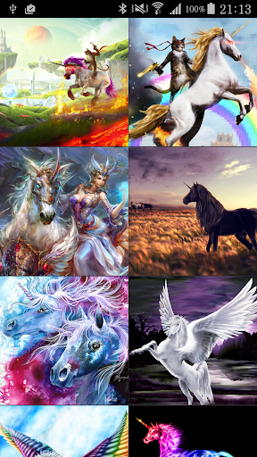 Unicorn Pegasus Wallpaper HD