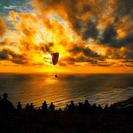 twilgith by Edi Triono - Uncategorized All Uncategorized ( sky, beautiful, art, pick, dusk, yellow, dark, twilight, people, picture )