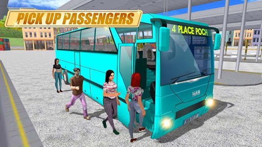 Real Coach Bus Simulator 3D 1 screenshots 1
