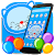 Blue Cat Cartoon launcher Theme file APK Free for PC, smart TV Download