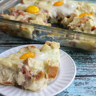 Croque Madame Breakfast Casserole