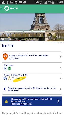 Visit Paris by Metro - RATP 1.6.6 screenshot 300048